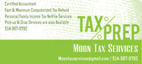 Last Minute Tax Return Services - Chomedey/Fabreville/St-Rose