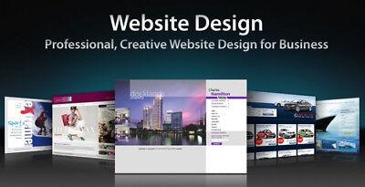 Custom Web Site Design Web Development - Word Press Html Php