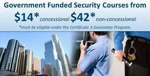 TOOWOOMBA Government FUNDED Cert III in Security Operations Brisbane City Brisbane North West Preview