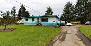 2 Acre Property with 3 Bedroom RANCHER!!