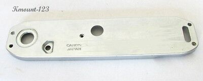 Canon AE-1 Program AE-1 P Base Bottom Plate w/o Motor Drive Cap - Fair Condition