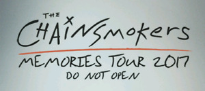 Chainsmokers tickets x 2