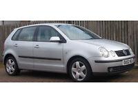 **Mot 04/17** Volkswagen Polo 1.9TDI PD ( 100bhp ) 2002 Sport **diesel**