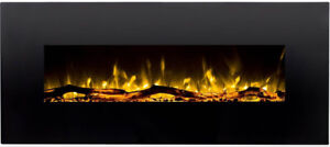 """Electric Wall Mounted Fireplace with Heater NIB $400 OBO 50"""""""