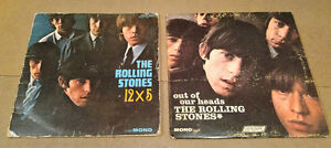 Rolling Stones 12x5 and Out of Our Heads Vinyl 33rpm