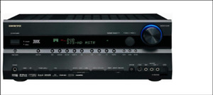 Onkyo 100 W/Ch 7.1 Surround Sound Receiver, & Remote.