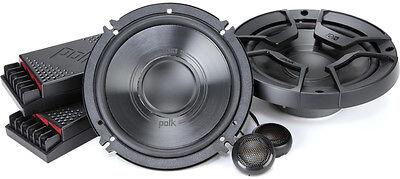 "NEW POLK AUDIO DB6502 6.5"" COMPONENT SET CAR/MARINE/BOAT SPEAKER SYSTEM SPEAKERS"