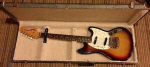 1972 Fender mustang made in USA