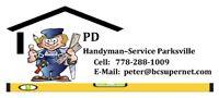Handyman service Parksville