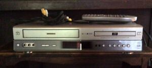 VHS/DVD player and movies