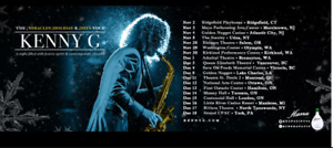 kenny G Dec 15 Christmas /Hits Tour Front row seats book of 2