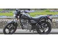 Zontes Tiger 50cc Commuter Style Black LEARNER MOTORCYCLE MOTORBIKE