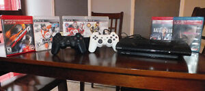 Playstation 3 + 1 manette + 6 jeux