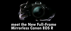 BRAND NEW CANON EOS R WITH 24-105MM LENS KIT​