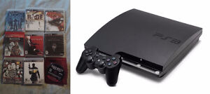 Selling a Playstation 3 with Controller and 9 Games