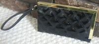 BRAND NEW BLACK WALLET/ CLUTCH BY '' ANN KLEIN '' FOR SALE