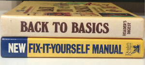 Reader's Digest 'How To' Books for Sale