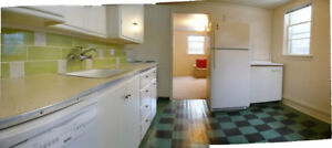 Lovely Lower Floor, Bright with Private Yard: Avail Mar/Apr