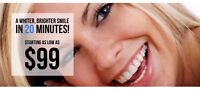Professional Teeth Whiteing ONLY  fr 99