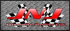 JNJ AUTOMOTIVE SERVICES. $80/HR. CERTIFIED QUALITY AUTO REPAIRS
