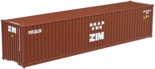 ATLAS (N) 50 004 169 ZIM 40FT STANDARD HEIGHT CONTAINER 3 PACK SET#2- NEW