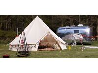 Soul pad ease 4000 canvas bell tent .