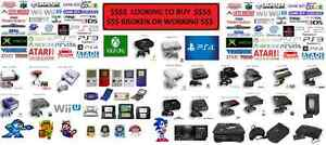 COLLECTOR LOOKING TO BUY YOUR VIDEO GAMES AND SYSTEMS