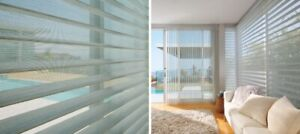 New Hunter Douglas Remote Controlled Blinds For Sale