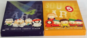 South Park Complete 4th and 5th Seasons DVD Box Set Pair Timmy