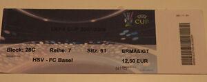 old TICKET UEFA HSV Hamburg Germany FC Basel Switzerland Suisse - <span itemprop='availableAtOrFrom'>Poznan, Polska</span> - old TICKET UEFA HSV Hamburg Germany FC Basel Switzerland Suisse - Poznan, Polska