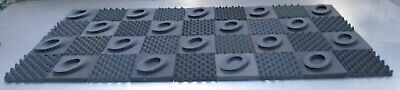 "2"" Thick Studio Acoustic Soundproofing Foam Tiles 36'' x 82''"
