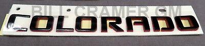 84113503 Chevrolet Colorado OEM Factory Redline Fender Badge Emblem NEW