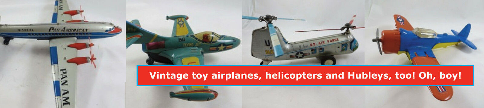 ohboytoys vintage toy airplanes