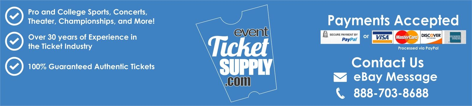 Event Ticket Supply