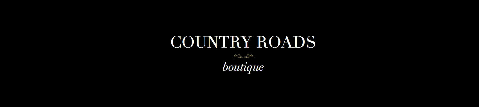 COUNTRY ROADS boutique