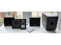 TEAC Micro Hi-Fi - Excellent Sound, Perfect Condition - CD, DAB Radio, AUX, iPod, Subwoofer
