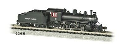 N Scale UNION PACIFIC #41 ALCO 2-6-0 DCC EQUIPPED Locomotive Bachmann 51755