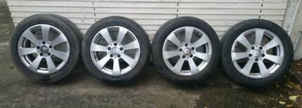 Mercedes Alloy Wheels Caulfield South Glen Eira Area Preview