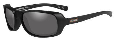 Harley-Davidson Men's Throttle Sunglasses, Smoke Lens/Matte Black Frame HRTHR01