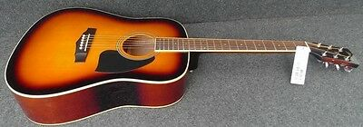 Ibanez PF15-VS Performance Series 6 STRING ACOUSTIC DREADNOUGHT GUITAR BURST