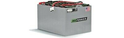 12-85-13 Repower Reconditioned Electric Forklift Battery 24v 30l13w22.5h