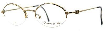 Henry Jullien Double Gold Brille Fassung Eyeglasses VIRTUALE 06 48 (Virtual Eyeglass)