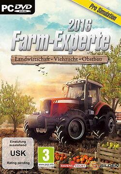 DVD PC Spiel  Farm-Experte 2016: Landwirtschaft - Viehzucht - Obstbau NEU