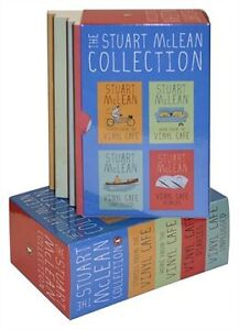 Stuart Mclean Collection Boxed Set Vinyl Cafe 4 Books *NEW*