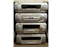 Technics stereo system SH-DV250 SL-DV250 SA-DV250 RS-DV250