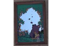 Mirror. Kids Bedroom. Honey Bear. Mirrors