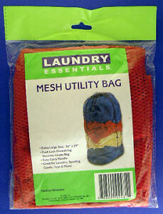 25-Lingerie-Laundry-Bags-with-Push-Lock-Drawstring-36-x24-Red-Mesh-Bag