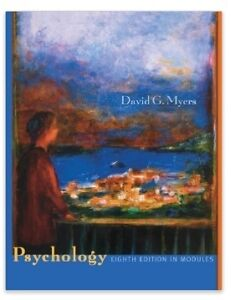 Psychology:8th Edition in Modules by David G. Myers Hardcover Peterborough Peterborough Area image 1
