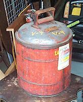 Vintage Gas Can , Underwriters Lab