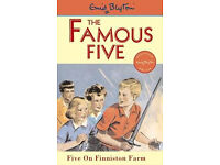 The Famous Five - By Enid Blyton - Five On Finniston Farm (Paperback Book) No18 Childrens Vintage